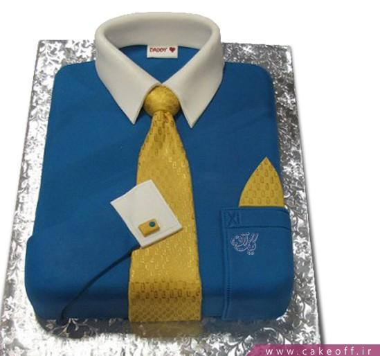 کیک پیراهن مردانه بابای خوبم
