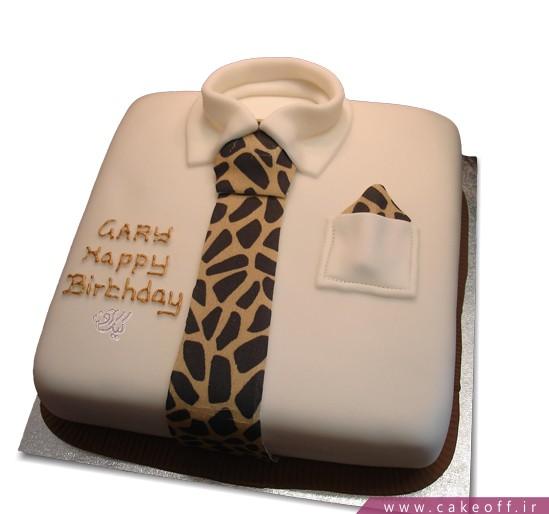 کیک فوندانت پیراهن مردانه پدر من