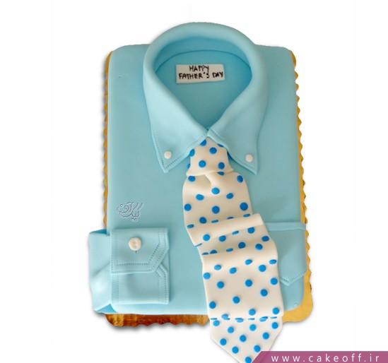 کیک فوندانت بابای خوش تیپم