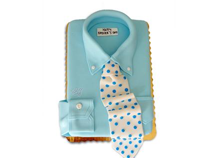 کیک روز پدر - کیک فوندانت بابای خوش تیپم | کیک آف