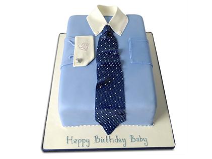 کیک تولد مردانه - کیک تولد همسر مهربان | کیک آف