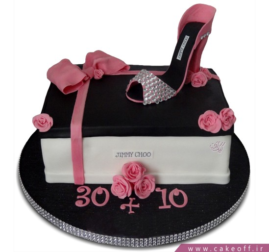 کیک تولد زنانه - کیک روز مادر قدم مامان | کیک آف