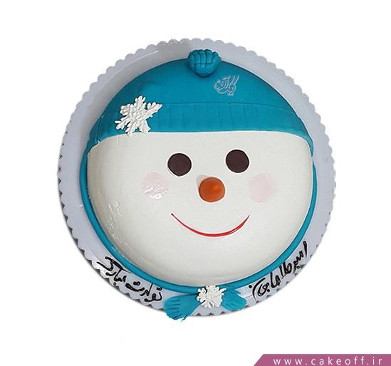 کیک آدم برفی ناقلا