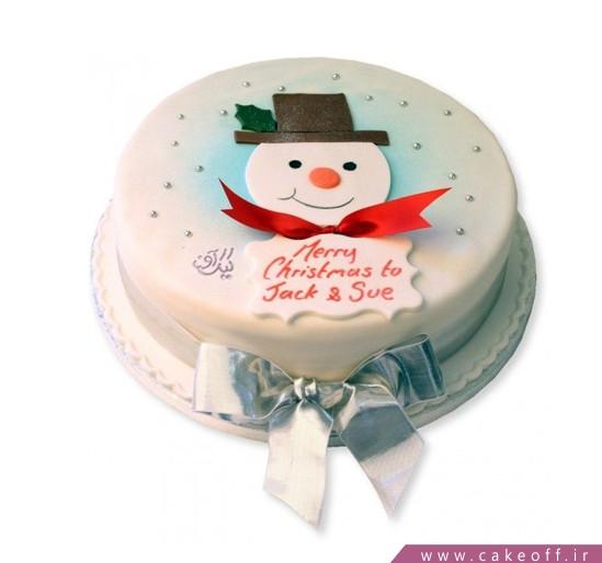 خرید اینترنتی کیک - کیک کریسمس مبارک | کیک آف