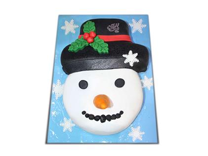خرید کیک آدم برفی - کیک کریسمس | کیک آف