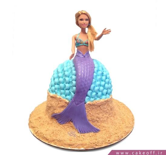 کیک باربی دریایی