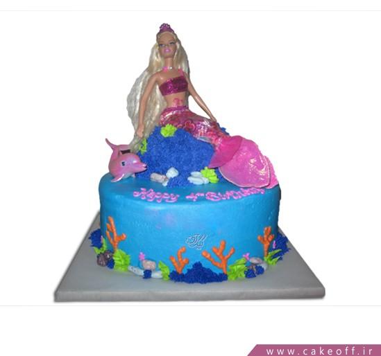 کیک تولد دخترانه - کیک باربی و دلفین | کیک آف