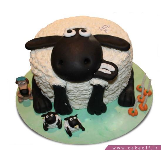 کیک کارتونی بره ناقلا 4