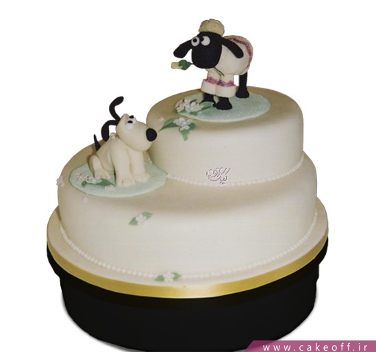 کیک کارتونی بره ناقلا 5