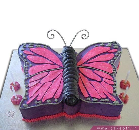 کیک شاپرک