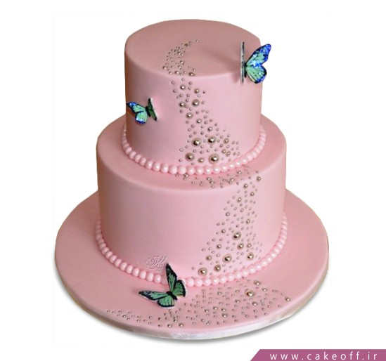 کیک سالگرد ازدواج - کیک سالگرد ازدواج مهرآیین | کیک آف