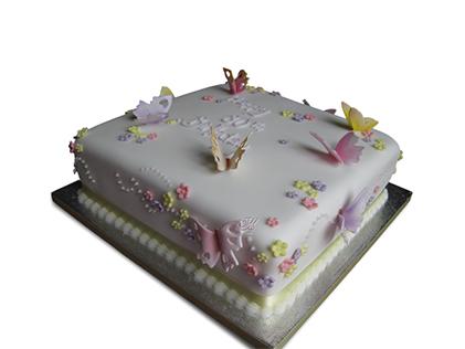 خرید کیک اینترنتی - کیک خامه ای دیانا | کیک آف
