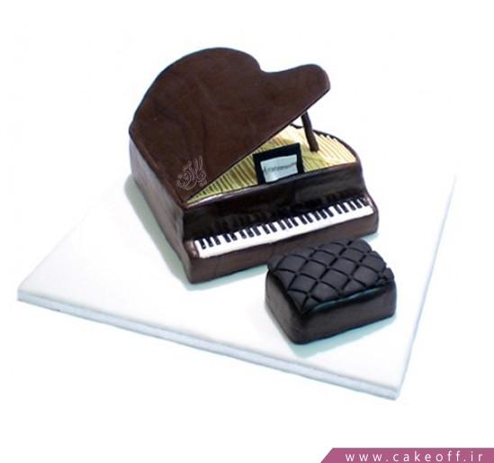 کیک تولد پیانو فرانز