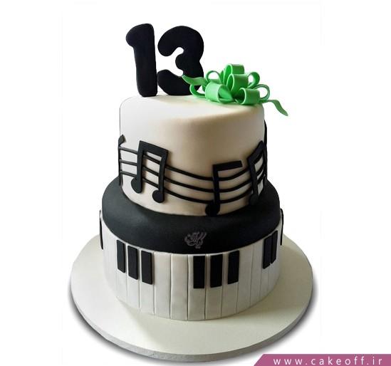 کیک تولد پیانو بیلی جول