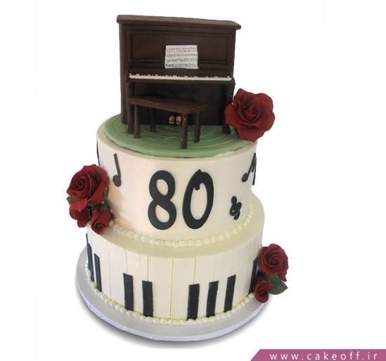 کیک تولد پیانو فردریک چاپین