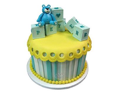 کیک تولد جدید - کیک تولد بچگانه خرس باسواد | کیک آف