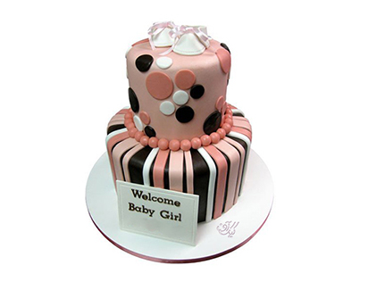 انواع کیک تولد - کیک تولد نوزاد نوپا | کیک آف