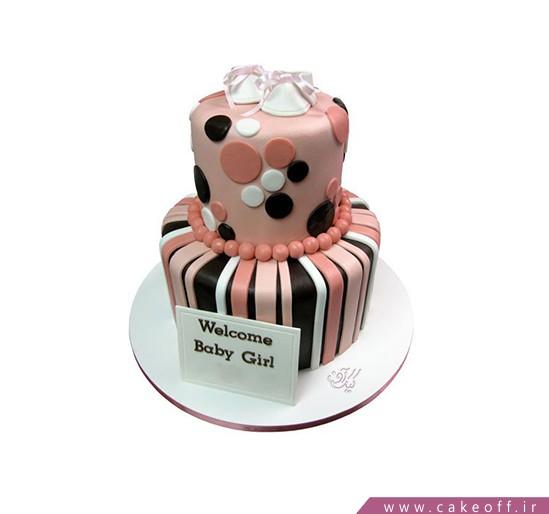 کیک تولد نوزاد نوپا