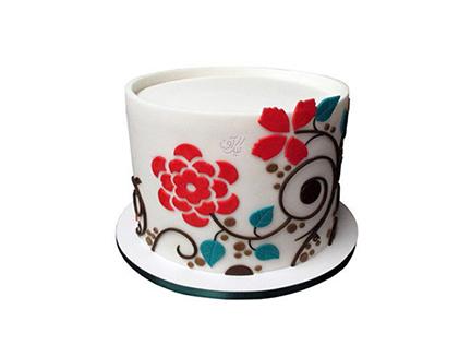 خرید کیک تولد - کیک تولد شب بو | کیک آف