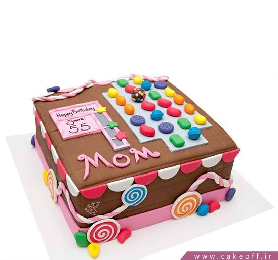 خرید کیک تولد - کیک تولد مادر کندی کرش | کیک آف
