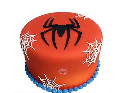 سفارش کیک خاص - کیک تولد اسپایدر | کیک آف