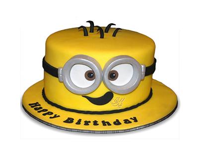 سفارش کیک تولد بچه گانه - کیک مینیون موذی | کیک آف