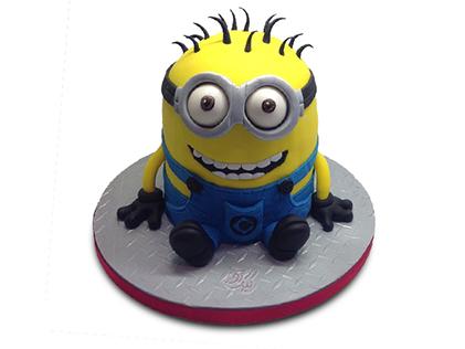 کیک مینیون بازیگوش | کیک آف