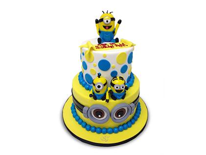 کیک مینیون طبقاتی | کیک آف