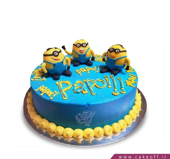 کیک سه مینیون