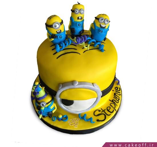کیک مینیون مشکوک | کیک آف