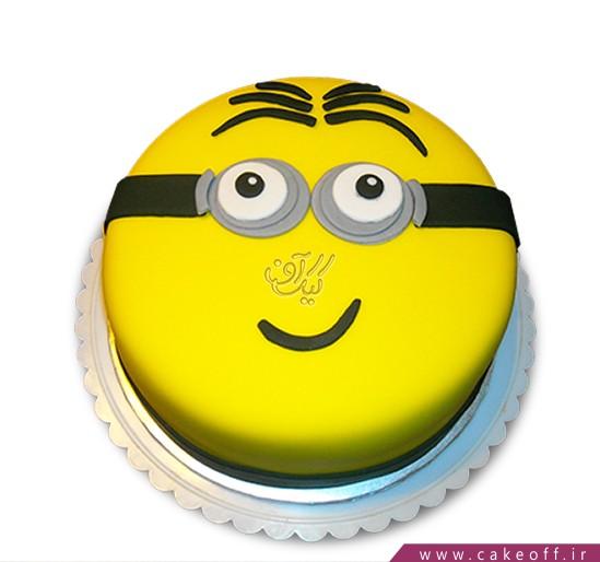 کیک مینیون ساده