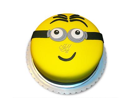 کیک مینیون ساده | کیک آف