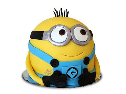 سفارش کیک تولد مینیون - کیک مینیون تپل | کیک آف