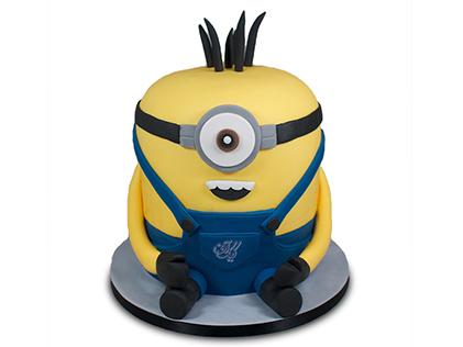 کیک مینیون ریلکس | کیک آف