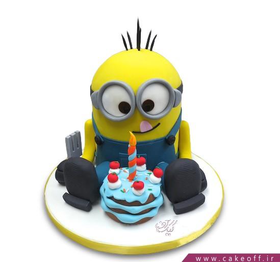 کیک تولد مینیون کوچولو