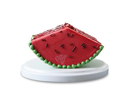 کیک شب یلدا - کیک هندوانه شیرین | کیک آف