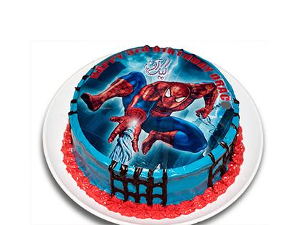 سفارش کیک تولد پسرانه - کیک مرد عنکبوتی 1 | کیک آف
