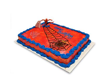 کیک تولد بچه گانه - کیک مرد عنکبوتی 2 | کیک آف