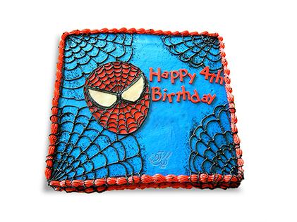 کیک تولد پسرانه - کیک مرد عنکبوتی 5 | کیک آف