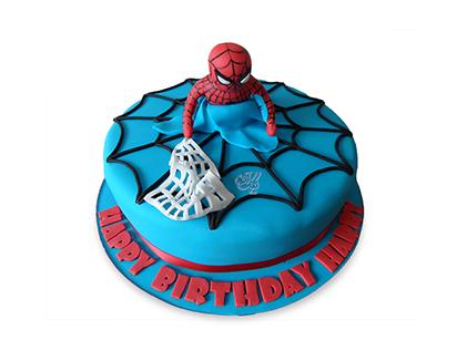 سفارش کیک تولد پسرانه - کیک مرد عنکبوتی 6 | کیک آف