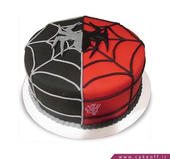 خرید اینترنتی کیک - کیک عنکبوت | کیک آف