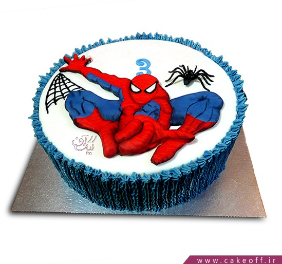 کیک مرد عنکبوتی 4