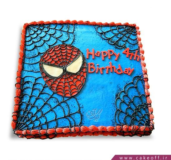 کیک تولد پسرانه - کیک مرد عنکبوتی ۵ | کیک آف