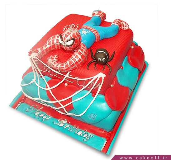 کیک مرد عنکبوتی 3