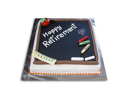 سفارش اینترنتی کیک - کیک معلم بازنشسته | کیک آف