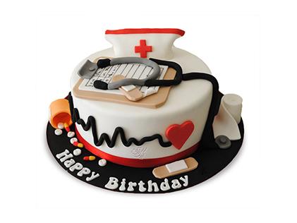 سفارش کیک روز پزشک - کیک طبیبیان | کیک آف