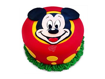 کیک تولد میکی موس - کیک میکی در چمن | کیک آف