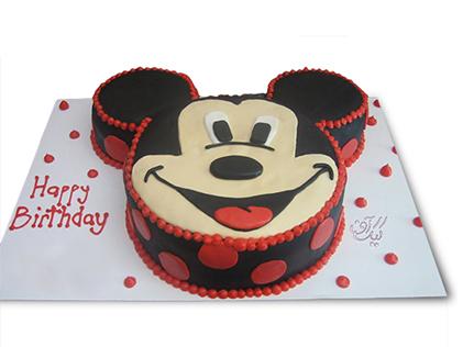کیک تولد میکی موس - کیک میکی خندان | کیک آف