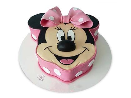 کیک تولد دخترانه - کیک مینی موس ملوس | کیک آف