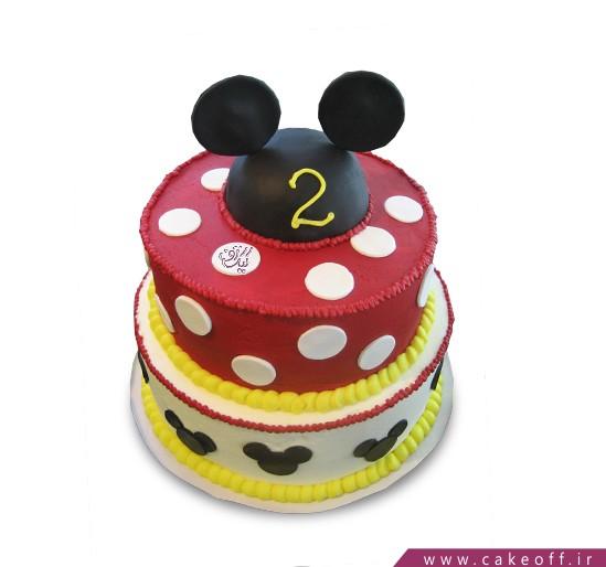 کیک تولد بچه گانه - کیک میکی  | کیک آف